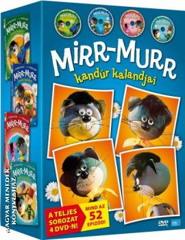 - Mirr-Murr kandúr kalandjai díszdoboz 4 DVD